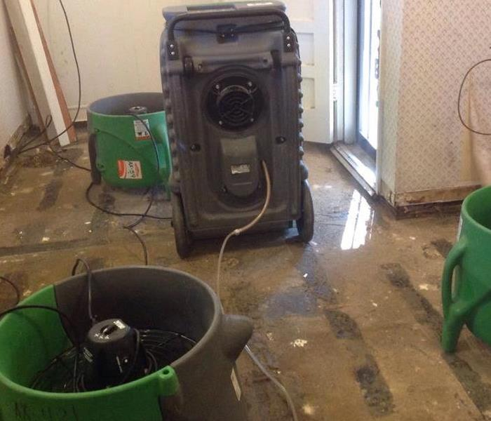 Drying Equipment after Water Loss