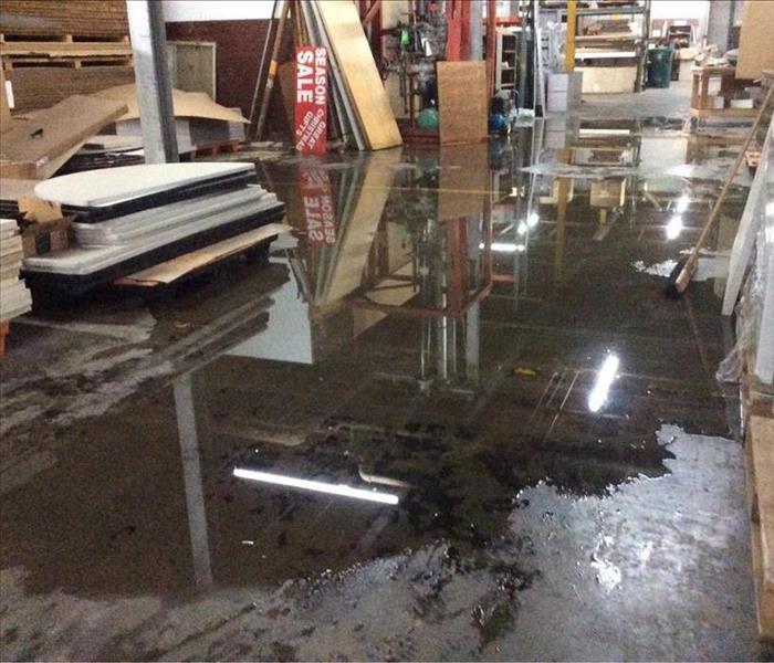 Bartlett, TN Business Halted by Water Damage